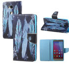 New Wallet Folio Leather Flip Case Cover W/Card Holder Stand For Mobile Phones
