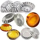 12pcs Egg Tart Tins Pan Cupcake Liners Muffin Jelly Cases Chocolate Baking Mould