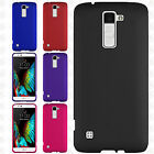 For LG K10 Rubberized HARD Protector Case Snap On Phone Cover Accessory