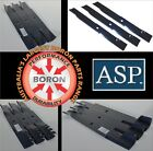 BORON MOWER BLADES TO SUIT GRASS HOPPER RIDE ON MOWERS 52 & 72 inch decks