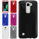 For LG K10 Frosted TPU CANDY Gel Flexi Skin Case Phone Cover Accessory