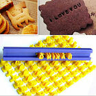 Number/Alphabet Letter Biscuit Cookie Stamp Cutters Cake Decor Tool Mom's Favor