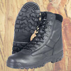 MILITARY ARMY FULL LEATHER PATROL COMBAT BOOT TACTICAL BLACK CADET ALL SIZES NEW