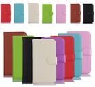 Luxury New PU Leather Flip Case Cover Card Wallet  Slot For Huawei Smart Phones