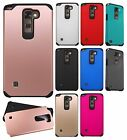 For LG Stylo 2 LS775 HARD Astronoot Hybrid Rubber Silicone Case Phone Cover