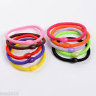 $2.99 =5 xCute Girl Hair Ties Band Ponytail Holder Multicolor Headband FREE POST