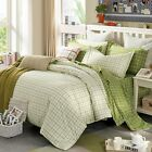 New Checks Duvet Covers 100%Cotton SD/Queen/King Bed Linen Quilt/Doona Cover Set