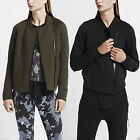 Nike Womens Tech Fleece Aeroloft Moto Running Jogging Sweatshirt Jacket Top