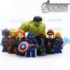 THOR IRON MAN HULK NICK AVENGERS Age Of Ultron 8 Minifigures Building Brick LEGO