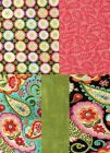 BLOOMING PAISLEY Cotton Fabric - 1 Yard