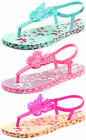 Ipanema Brasil Butterfly Charm Junior Girls Sandals ALL SIZES AND COLOURS