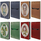 HEAD CASE DESIGNS CHRISTMAS ANGELS LEATHER BOOK CASE FOR APPLE iPAD MINI 1 2 3