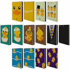 HEAD CASE DESIGNS KAWAII DUCK LEATHER BOOK WALLET CASE FOR APPLE iPAD MINI 1 2 3