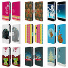 HEAD CASE DESIGNS MIX CHRISTMAS COLLECTION LEATHER BOOK CASE FOR LG NEXUS 4
