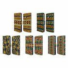 HEAD CASE DESIGNS ETHNIC LINE ART LEATHER BOOK WALLET CASE COVER FOR HTC ONE M7