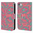 HEAD CASE DESIGNS PAISLEY TIERE BRIEFTASCHE HÜLLE FÜR APPLE iPHONE 4 / 4S