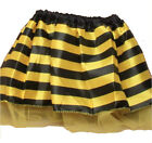 Girls Bumble Bee Satin TuTu with Yellow Net Underlayer Tutu Costume