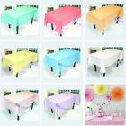 """54""""x108"""" New Solid Color Weeding Party Supplies Disposable Table Covers Decor H"""