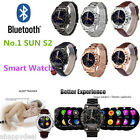 SUN S2 Bluetooth Smart Watch Health Monitor UV Test for Android Smartphone
