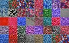 6x8mm Plastic Pony Beads 40 Colours 10-500 Beads *3 FOR 2* dummy clip jewellery