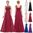 PLUS SIZE 20-26 Women Sexy Bridesmaid Prom Dress Evening Party Wedding Gown New
