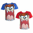Official Looney Tunes Taz T Shirt 100% Cotton Short Sleeved Boys Girls Kids Top