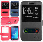 For Samsung Galaxy Express 3 Dual Window Side Flip Protector Phone Case Cover