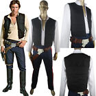 Star Wars ANH Han Solo Outfit Full Set Halloween Comic-con Cosplay Costume