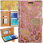 For Samsung Galaxy Express 3 Premium Leather Wallet Lips Case Flip Phone Cover