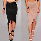 New Women High Waist Stretch  Bandage Bodycon Tight Pencil Skirts Dress Clubwear