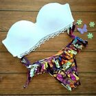 Women Sexy Triangle Bikini Set Push Up Padded Bra Swimwear Swimsuit Bathing Suit
