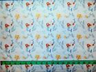 TALES OF THE SEA - MERMAIDS ON LIGHT BLUE 100% cotton patchwork fabric