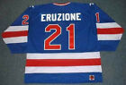 MIKE ERUZIONE 1980 USA K1 Olympic Throwback Away Hockey Jersey