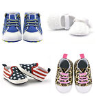 New 0-18 Months Infant Baby Shoes Toddler Sneakers Boy Girl Soft Sole Crib Shoes