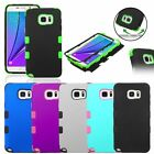 TUFF Hybrid Rubber Hard Protective Case Cover For Samsung Galaxy Note 5 S6 Edge