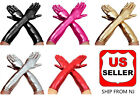 "Women's 17 "" Long Satin Cosplay Halloween Party Finger Gloves"