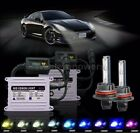 H4 H7 H11 9005 9006 DC 55W Slim HID Xenon Conversion Ballast Kit Headlight Bulb
