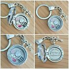 CONFIRMATION DAY Gift Personalised Charm Locket Keyring Necklace Bracelet