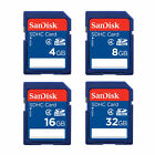 SanDisk 8GB 16GB 32GB SD SDHC Standard Class 4 Flash lot Memory Card