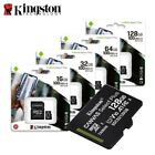 Kingston 8GB 16GB 32GB 64GB 128GB 256GB Micro SD SDHC MicroSDXC Card lot Class10
