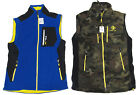 Polo Ralph Lauren RLX Mens Blue Green Camo Full Zip Slim Fit Fleece Vest Jacket