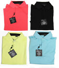 New Ralph Lauren RLX Golf Mens Solid Moisture Wicking Polo Shirt Size S M L XL