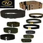 HIGHLANDER MILITARY SECURITY WEBBING DRESS BELTS ARMY PATTERN DPM OLIVE