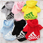 Cute Pet Clothes Cost Puppy Sports Clothes Hoodie Coat Dog Cloths