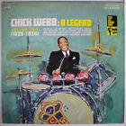 CHICK WEBB: A Legend, Vol. One 1929-36 LP (WLP, disc like new, w/ company inner