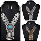 New Design Tassel Diamond Necklace Suits Women Charm Necklace Earring Party Gift