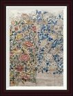 Global Gallery Design For Chintz: Rose by William Morris Framed Graphic Art