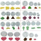 Novelty Various Fondant Cake Decorating Plunger Cutters Cookie Baking Mold Tools