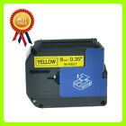 Compatible Brother MK-621 P-Touch Black on Yellow Label Tape 9mm x 8m M-K621