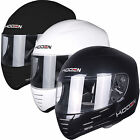 Koden Kart K2010 Race Track Racing Crash Helmet Gloss Black Matt Black White